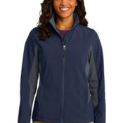 Port Authority® Ladies Core Colorblock Soft Shell Jacket