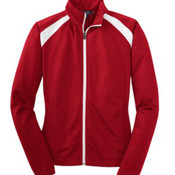 Sport-Tek Ladies- Tricot Track Jacket.