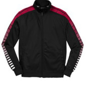 Sport-Tek Dot Sublimation Tricot Track Jacket