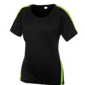 Sport-Tek® Ladies Colorblock PosiCharge Competitor Tee